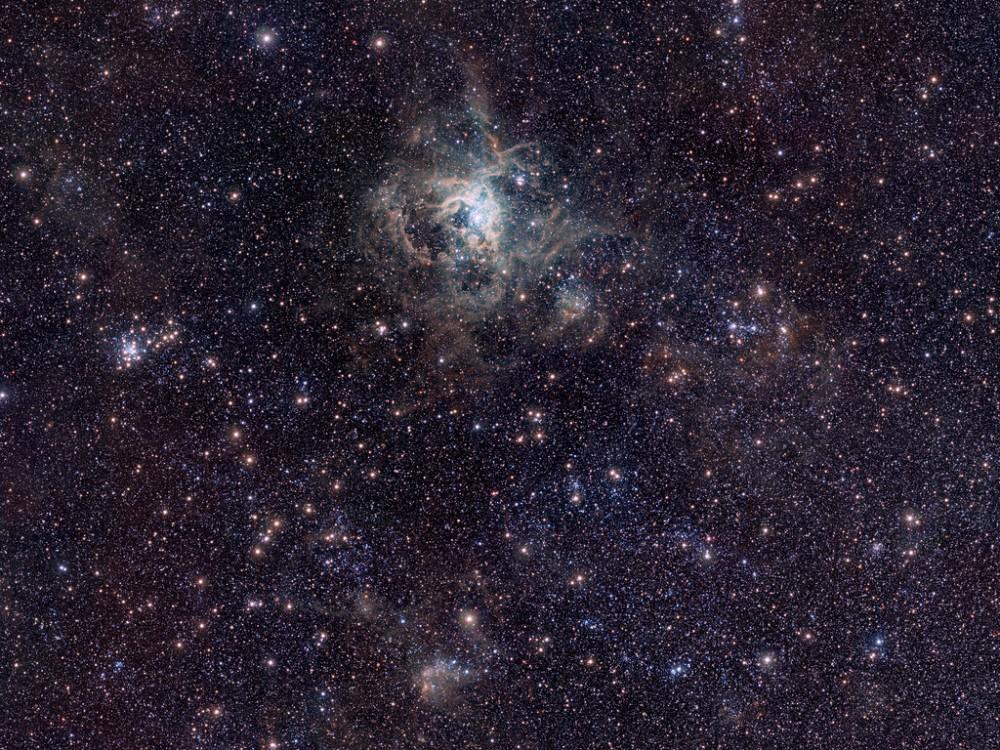 VISTA Magellanic Cloud Survey view of the Tarantula Nebula*